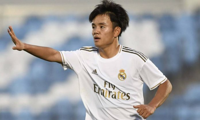 Getafe Resmi Pinjam Takefusa Kubo Dari Real Madrid